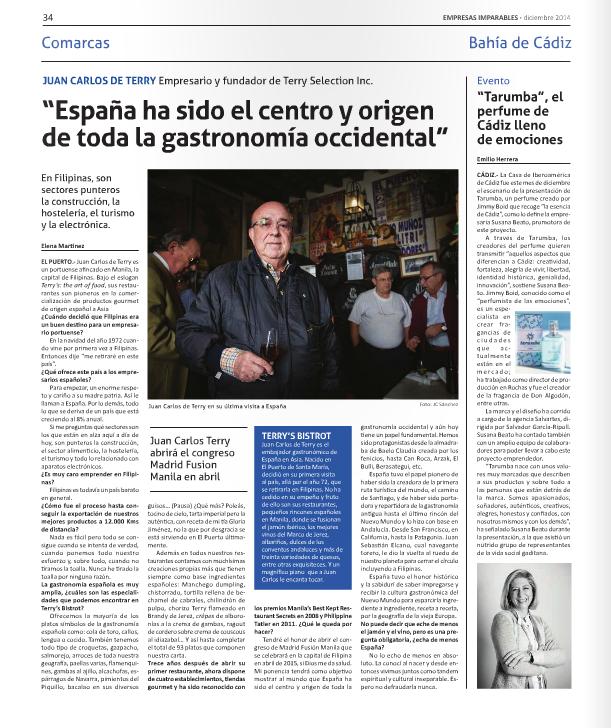 """Publicación regional, """"Empresas Imparables"""""""