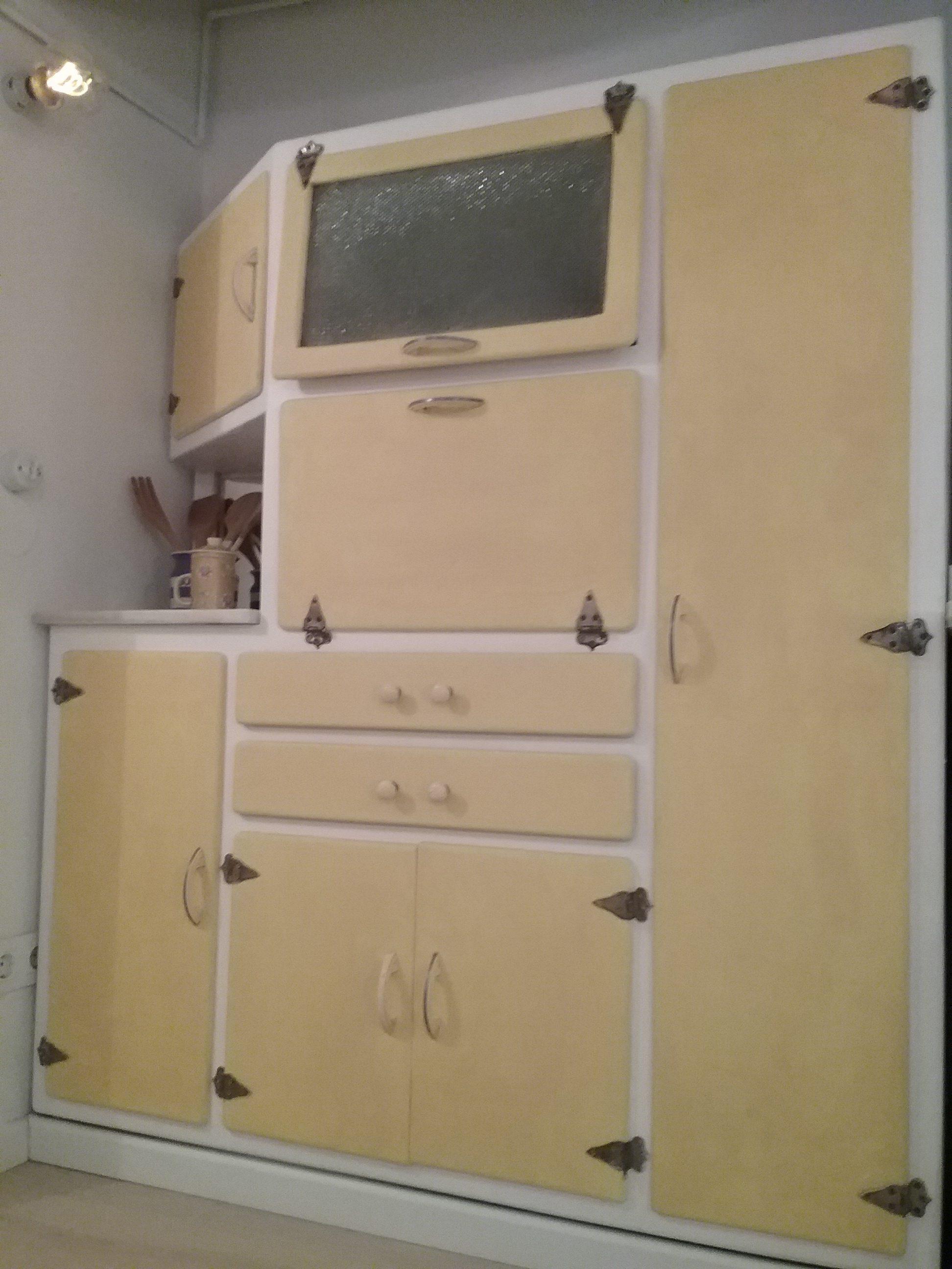 Mueble Cocina Retro - Decoracion Del Hogar - Evenaia.com